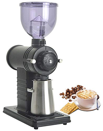 Great Price! Moongiantgo Electric Burr Coffee Grinder Mill Automatic Burr Mill Coffee Bean Grinding ...