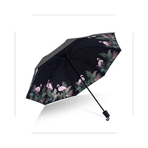 Paraguas paraguas paraguas de vinilo paraguas paraguas anti-ultravioleta paraguas femenino plegable