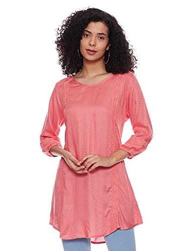 EASYBUY Women's Rayon A-Line Casual Dress