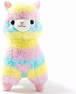 A Hot Nice Cute Saddle Alpaca Peluche Giocattoli Morbido Peluche Alpacasso Alpaca Bambole Peluche Giocattolo per Bambini Regalo di Compleanno 50 cm N