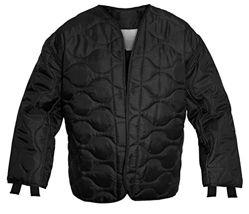 Rothco M-65 Field Jacket Liner, Black, Medium