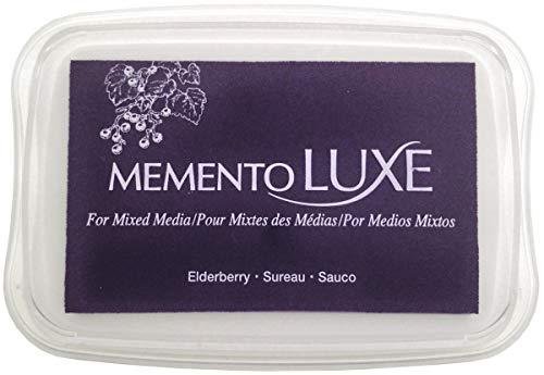 Memento Luxe Tsukineko Sauco - Almohadilla de Tinta, Color Morado