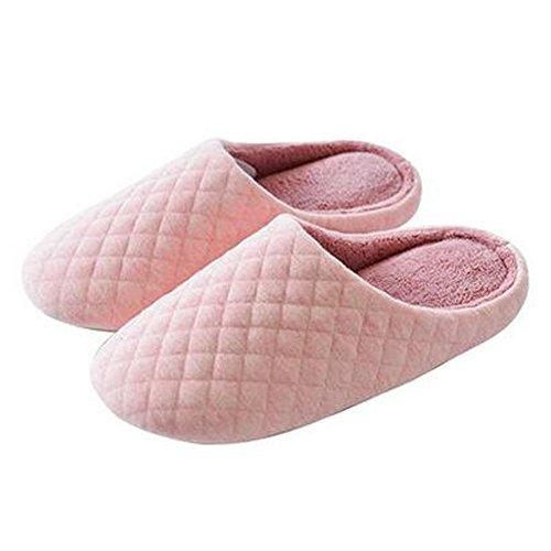 Japonais Mesdames hiver et chaleureux Chaussures Indoor Maison Slipper, Rose
