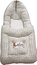 Cutes Baby Carry Bed/Bedding/Carrier Sleeping Bag (White)