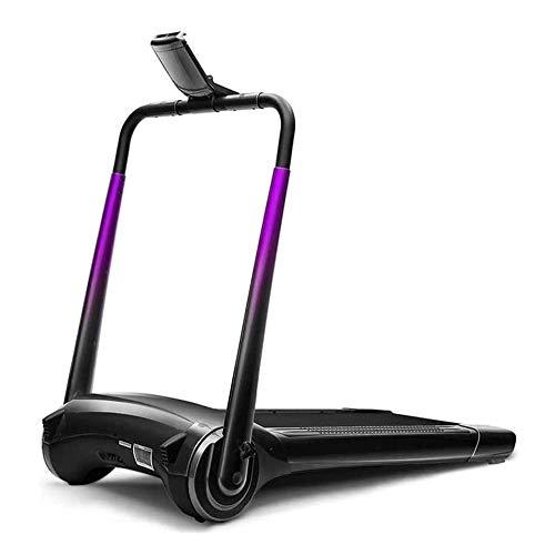 WJFXJQ Cinta de Correr Plegable, caminadora eléctrica Debajo del Escritorio Ultra silencioso con Bluetooth y Pantalla LED, Corta Jogging máquina for el hogar/Uso de la Oficina