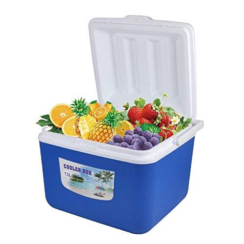 LXYZ Refrigerador de Coche de 13L, Organizador, frío y Calor, Enfriador de Hielo al Aire Libre para Picnic, Senderismo, Camping, Caja de Almacenamiento de Alimentos, 32 cm x 27,5 cm x 26 cm