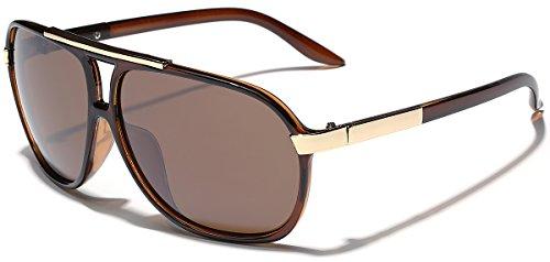 Classic 80s Fashion Aviator Sunglasses Retro Vintage Men's Women's Glasses