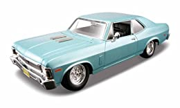 Authentic 1:24-1:27 scale model kit Die-cast metal body with plastic parts Working steering and opening doors Bonus set of custom wheels and screwdriver included No glue or paint needed
