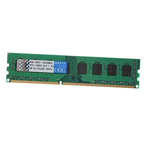 MERIGLARE 8G DDR3 PC3-12800U 1600MHz 240PIN DIMM Tarjeta Madre AMD Memoria Dedicada RAM