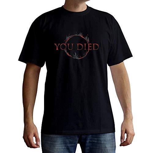Dark Souls - You Died - T-Shirt | offizielles Merchandise von from Software, Größe:M