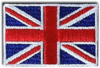 イギリス 国旗 アイロン ワッペン (2S 約45x30mm)