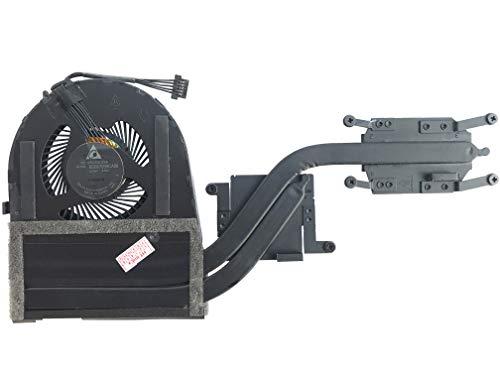 Ventilador de refrigeración con disipador de calor compatible con Lenovo ThinkPad S5 Yoga 15, S5 Yoga 15 (20DQ), Yoga 15 (20DR)