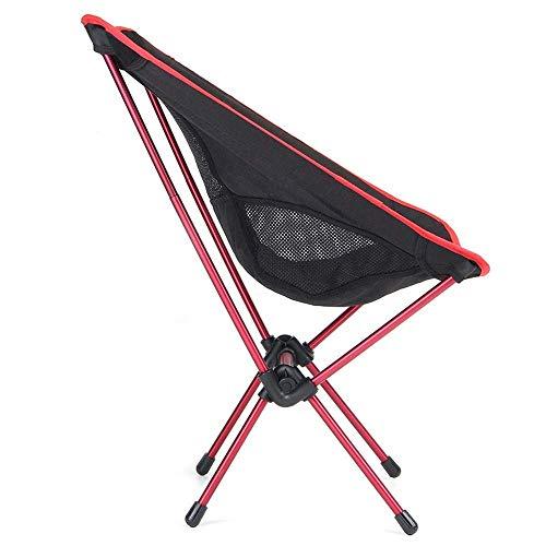 HYY-YY Silla de pesca plegable ligera asiento para camping al aire libre ocio picnic playa silla portátil de pesca de carga máxima 100 kg