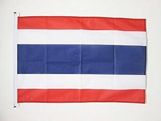علم أريزونا علم تايلاند 3 × 5 أقدام للاستخدام الخارجي - أعلام تايلاندية 90 × 150 سم - لافتة 3 × 5 أقدام محاكة من البوليستر...