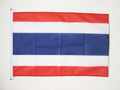 AZ FLAG Flagge Thailand 90x60cm - THAILÄNDISCHE Fahne 60 x 90 cm Aussenverwendung - flaggen Top Qualität