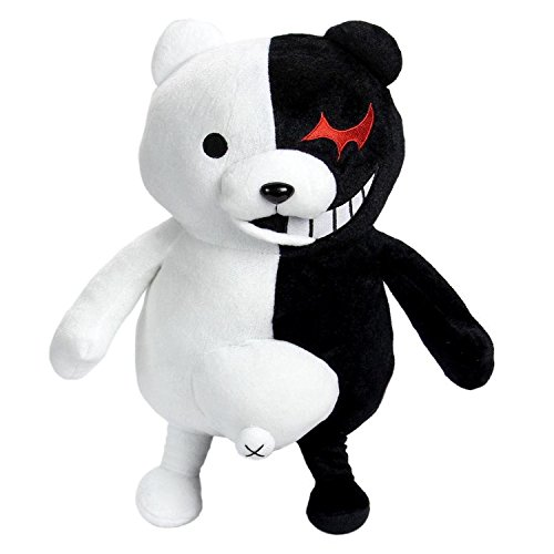 35cm Dangan Ronpa Super Danganronpa 2 Mono Kuma Black&White Bear Plush Doll Toy