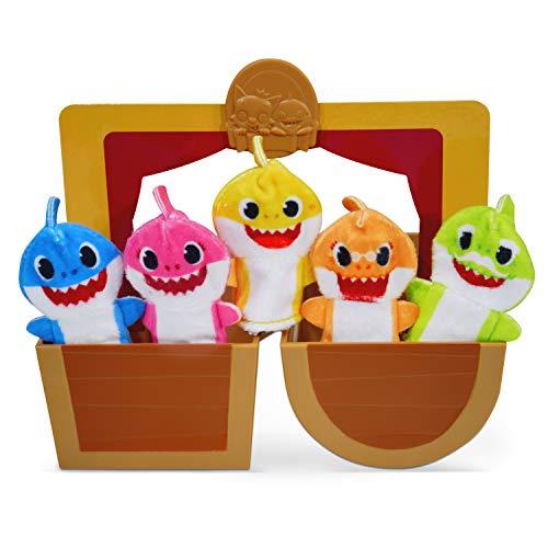 WowWee Pinkfong Baby Shark Official - Finger Puppet Pop-Up Playset