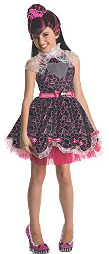 Monster High - Disfraz de Draculaura Sweet para niña, Talla M infantil 5-7 años (Rubie's 880992-M)