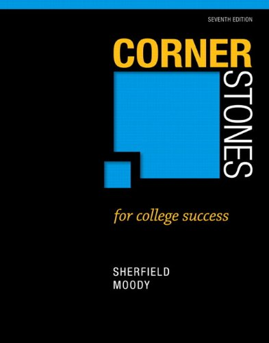 Cornerstones for College Success Plus NEW MyStudentSuccess Lab with Pearson eText -- Access Card Package (7th...