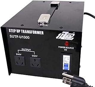 8ZED 120V-240V 1000W-AU Step Up Transformer Voltage Converter, Black