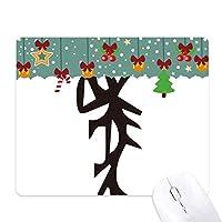 骨の銘は、中国の姓の文字のママ ゲーム用スライドゴムのマウスパッドクリスマス