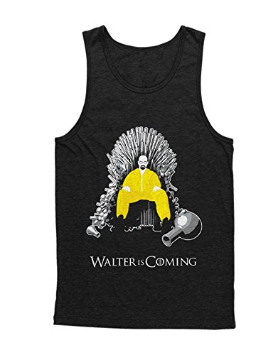 Hypeshirt Tank-Top Walter is Coming Got Cook Mashup C980061 Negro S