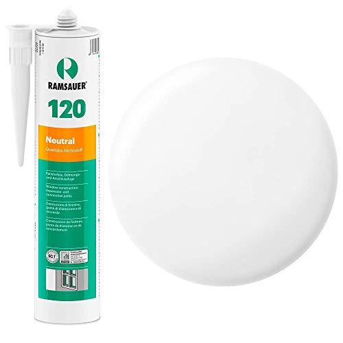 Ramsauer 120 Neutral 1K Silikon Dichtstoff 310ml Kartusche (Transparent)