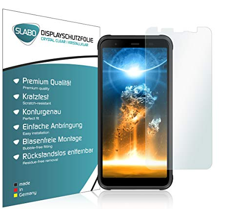 Slabo 4 x Bildschirmschutzfolie für Blackview BV6300 Pro Bildschirmfolie Schutzfolie Folie Zubehör Crystal Clear KLAR