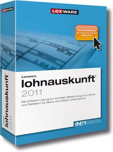 Lexware Lohnauskunft 2011 (Version 19.00)
