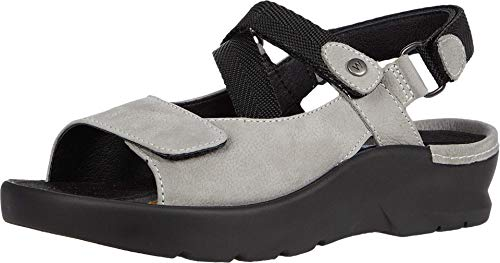 Wolky Comfort Sandalen Lisse - 11206 hellgraues Nubuk - 41