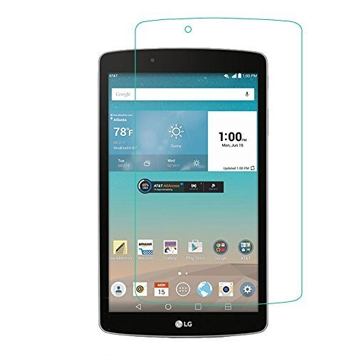 ANiceSeller Tempered Glass Screen Protector for LG G Pad F 8.0 Tab Tablet