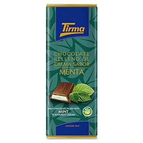 Chocolate con Leche Relleno de Crema de Menta