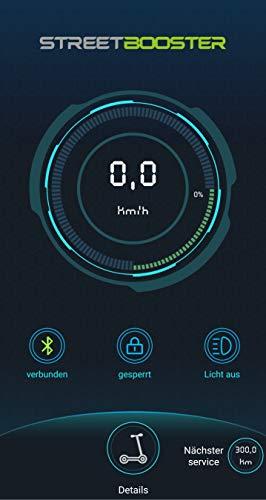 STREETBOOSTER One - E-Scooter mit Straßenzulassung und App aus dem Fachhandel (Grün) - 7