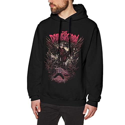 The Devil Wears Prada - Sudadera con capucha para hombre, manga larga, cómoda, con cordón, color negro