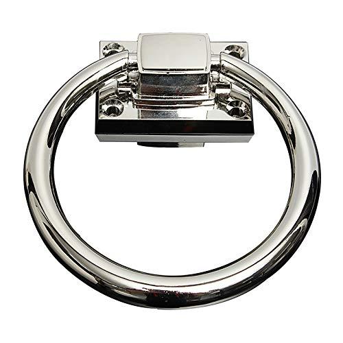 Türring Legierung Pull Ring Silber Drop Pull Ring Holz Türklopfer Stuhl Ziehgriff