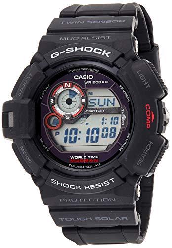 Casio Herren Digital Quarz Uhr mit Resin Armband G-9300-1ER