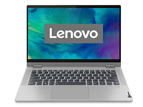 Lenovo IdeaPad Flex 5i Laptop 35,6 cm (14 Zoll, 1920x1080, Full HD, WideView, Touch) Convertible Notebook (Intel Core i3-1115G4, 8GB RAM, 256GB SSD, Intel UHD-Grafik, Windows 10 Home S) silber