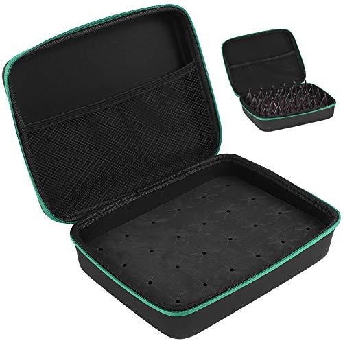 Keenso Caja de Puntas de Flecha Caja portátil para Puntas de Flecha Caja de Puntas de Flecha Caja de contenedores Accesorio de Tiro con Arco