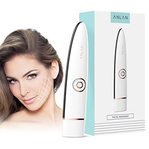 Kosmetischer Faltenentferner ANLAN Gesichtsmassage Ultraschallgerät mit 3 MHz für Gesicht RF Radio Frequency Beauty Device Anti Falten Anti-aging