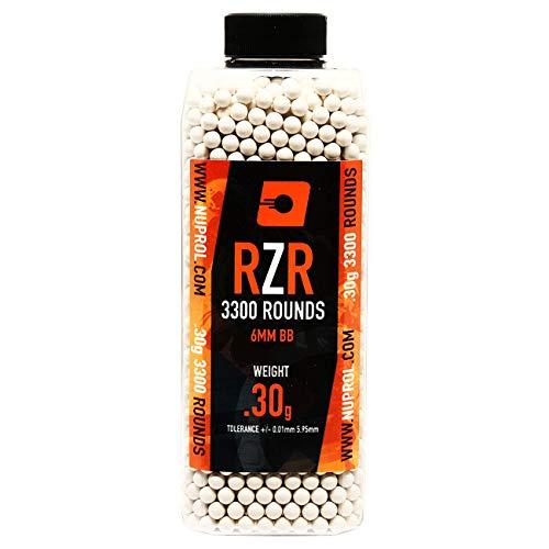 Nuprol Airsoft RZR BBs 0.30 grams 3300pcs