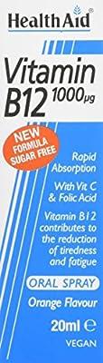 HealthAid Vitamin B12 1000g Spray 20ml by HealthAid