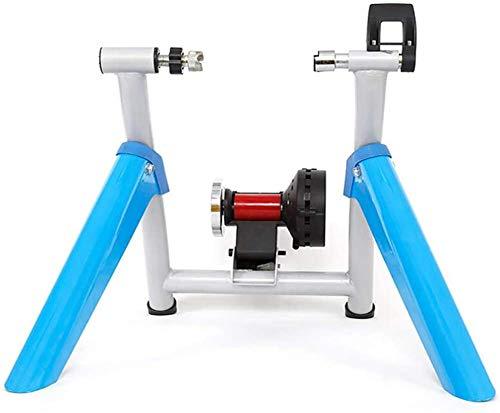 Entrenador de bicicleta Magnética soporte de la bici Trainer, Bicicleta magnética Turbo Traine Variable frame Resistencia bicicletas aptitud del ejercicio estacionario for bicicletas de montaña y carr