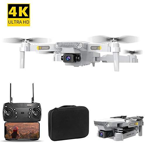 Yunhigh-uk Neue Drohne mit Kamera für Erwachsene Anfänger, 4K HD Kamera WiFi RC Drohne Quadcopter Faltbar mit Fernbedienung und Tragetasche, Geburtstag Kinder Jungen Mädchen