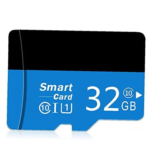 nJiaMe Micro SD Card con Adpter Alta Velocidad TF Tarjeta de Memoria para móviles con cámaras Jugador MP3 32GB