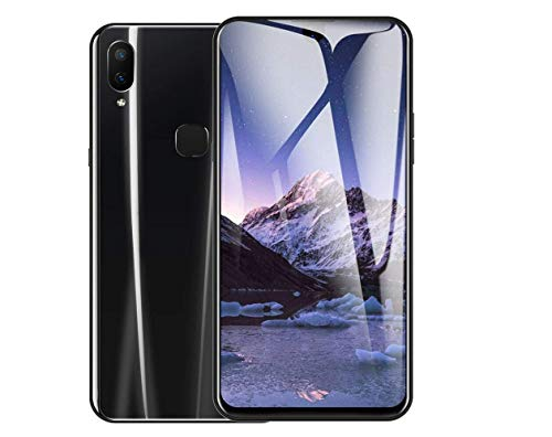 HaoYiShang Doble cámara HD Diseño con Pantalla Completa Android 8.1 GPS Identificación de rostros WiFi Bluetooth GPS 4G Llamar a teléfono móvil (4G+64G 6.0 Inch, Negro)