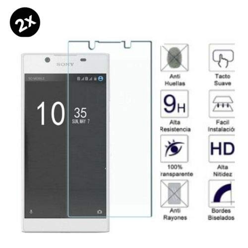 PHONE CONVERSE 2 Piezas Cristal Templado Protector de Pantalla Sony Xperia E4 Dureza 9H Bordes 2,5D Sin Burbujas contra Arañazos