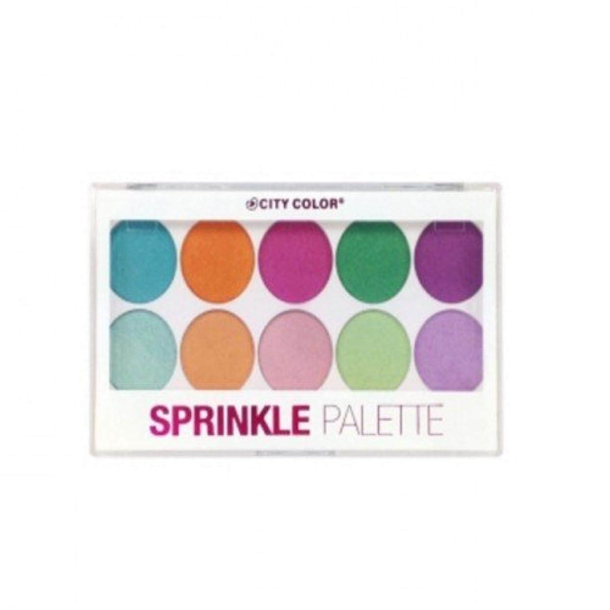 弱めるスリンク縫い目(6 Pack) CITY COLOR Sprinkle Palette (並行輸入品)