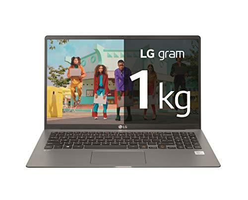 "LG gram 15Z90N-V-AR52B - Ordenador portátil ultraligero de 15.6"" FullHD IPS (Intel Core i5-1035G7, 8GB RAM, 256GB SSD, Windows 10 Home) Plata - Teclado QWERTY Español"