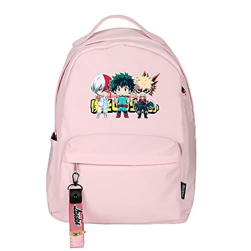 My Hero Academia Midoriya Izuku Women Backpack kawaii School Bags Waterproof Travel Backpack Anime Laptop Bagpack Bookbag (2)