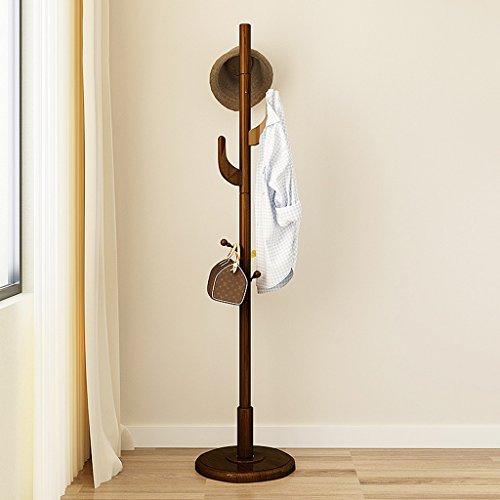 SKC Lighting-Porte-manteau Cuisinière en bois massif accrochage suspendu Cinturon moderne et élégant étagères créatives (Couleur : Noyer Couleur)